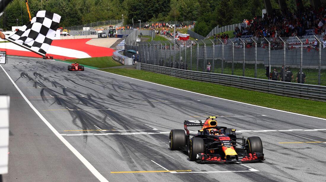 Max Verstappen - Red Bull - Formel 1 - GP Österreich - 1. Juli 2018