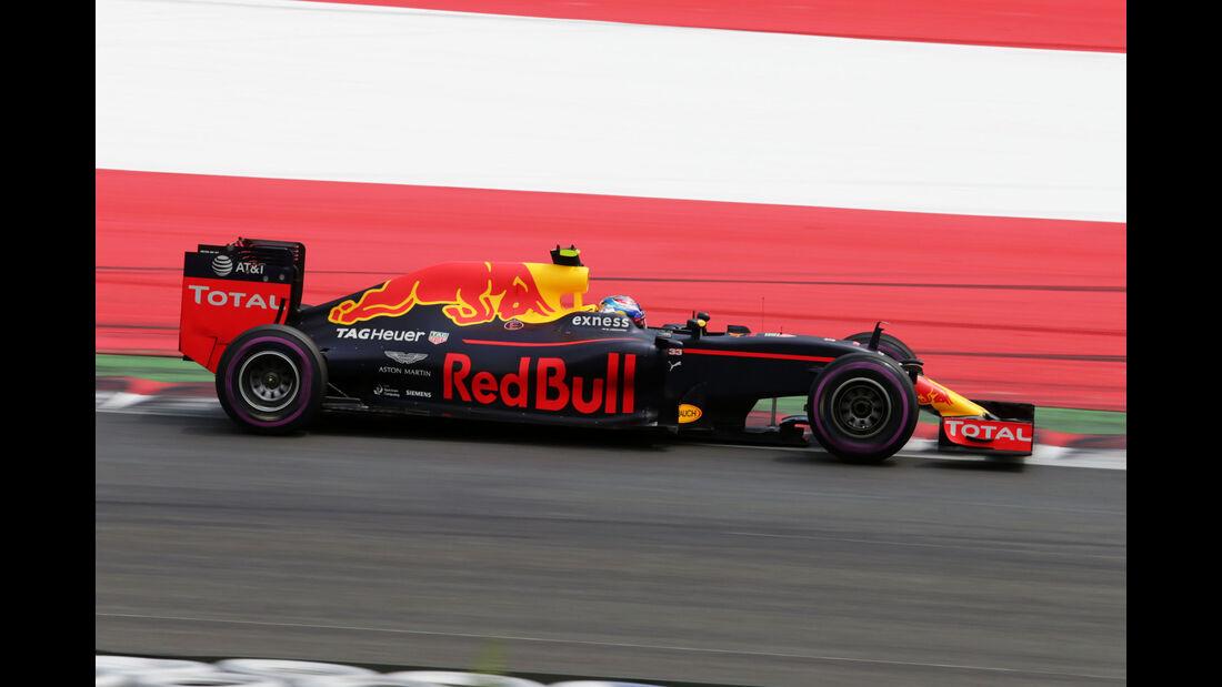 Max Verstappen - Red Bull - Formel 1 - GP Österreich - 2. Juli 2016