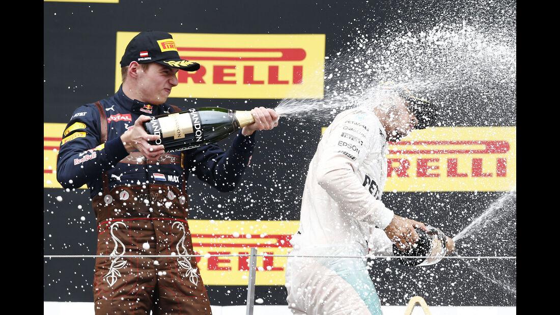 Max Verstappen - Red Bull - Formel 1 - GP Österreich - 3. Juli 2016