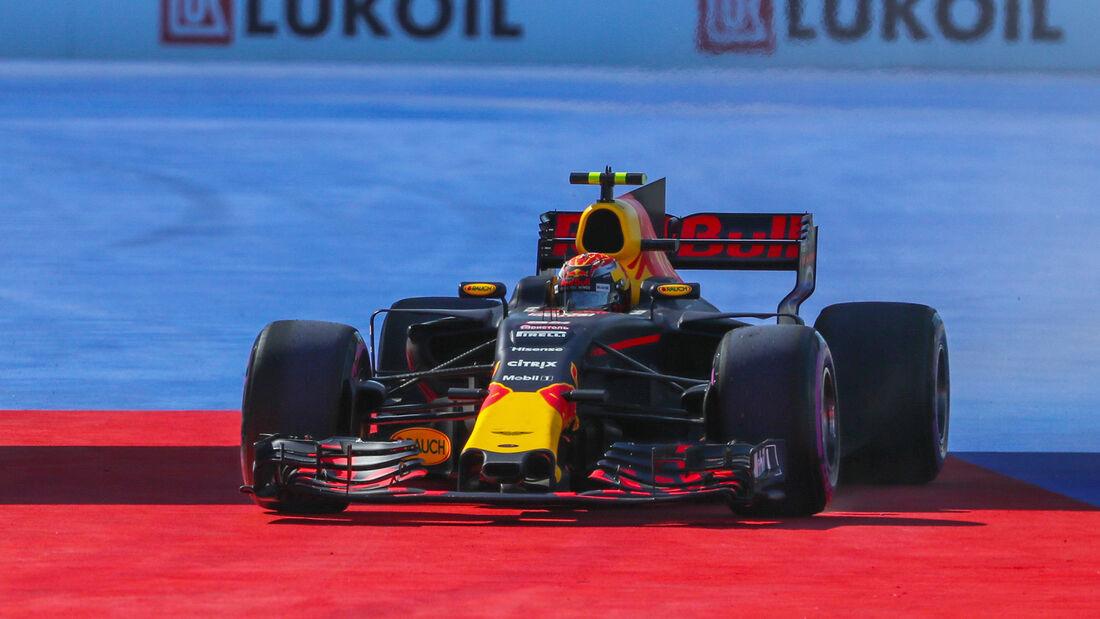 Max Verstappen - Red Bull - Formel 1 - GP Russland - Sotschi - 29. April 2017