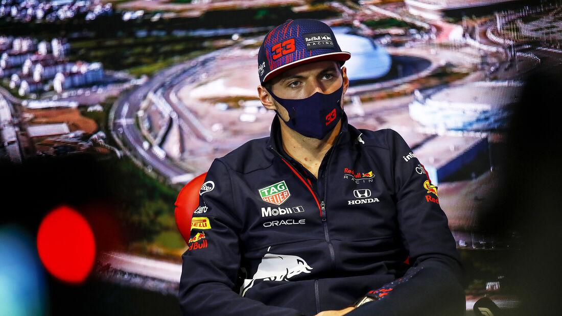 Max Verstappen - Red Bull - Formel 1 - GP Russland - Sotschi - Donnerstag - 23.09.2021