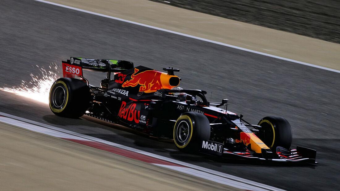 Max Verstappen - Red Bull - Formel 1 - GP Sakhir - Bahrain - Freitag - 4.12.2020