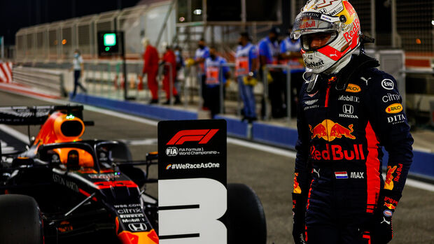 Max Verstappen - Red Bull - Formel 1 - GP Sakhir - Bahrain - Samstag - 5.12.2020