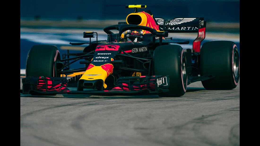 Max Verstappen - Red Bull - Formel 1 - GP Singapur - 14. September 2018