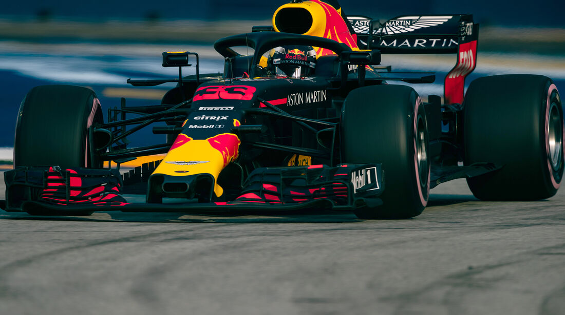 Max Verstappen - Red Bull - Formel 1 - GP Singapur - 14. September 2018