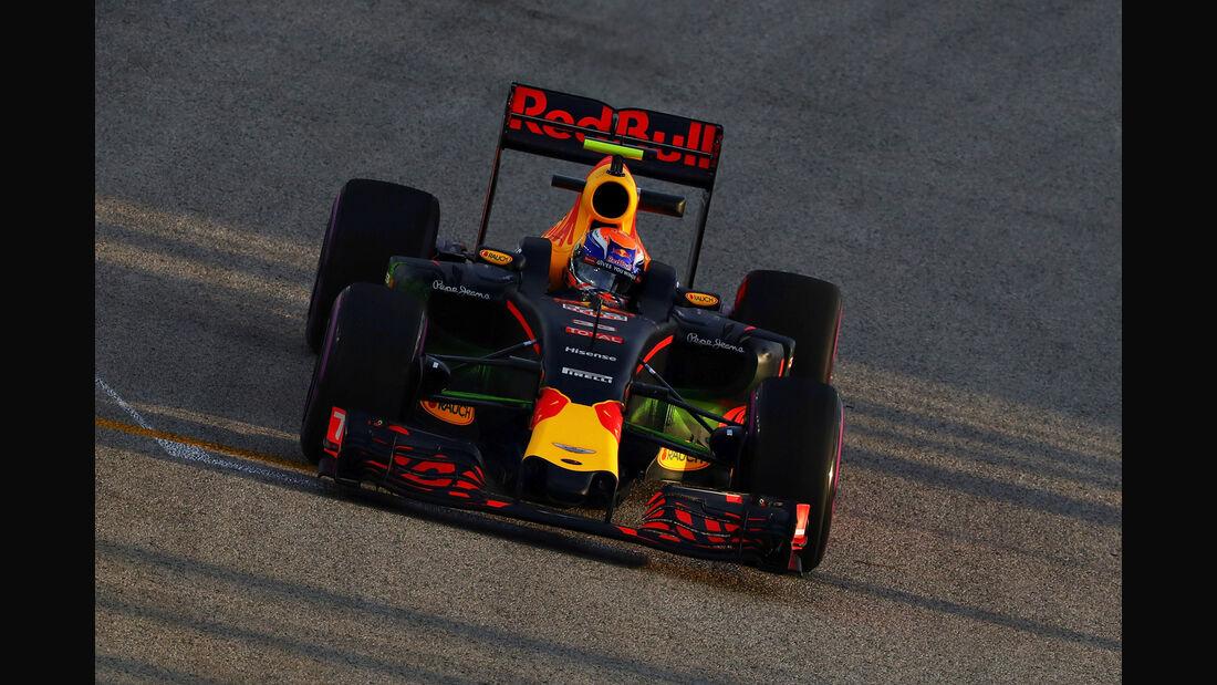 Max Verstappen - Red Bull - Formel 1 - GP Singapur - 16. September 2016