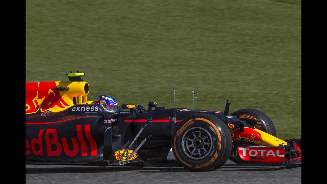 Max Verstappen - Red Bull - Formel 1 - GP Spanien - 13. Mai 2016