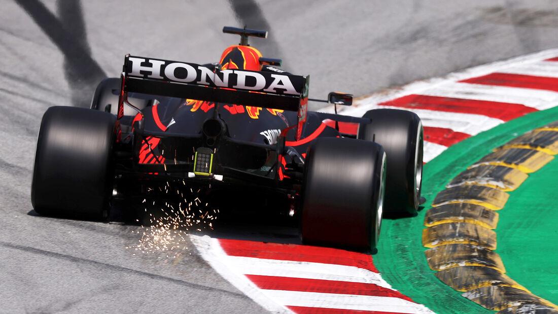 Max Verstappen - Red Bull - Formel 1 - GP Spanien - 7. Mai 2020