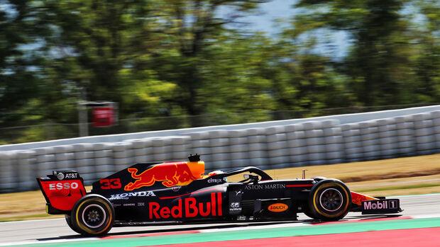 Max Verstappen - Red Bull - Formel 1 - GP Spanien - Barcelona - 14. August 2020