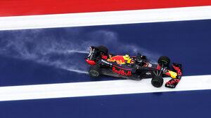 Max Verstappen - Red Bull - Formel 1 - GP USA - 19. Oktober 2018