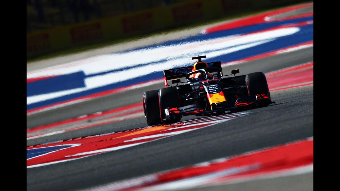 Max Verstappen - Red Bull - Formel 1 - GP USA - Austin - 1. November 2019