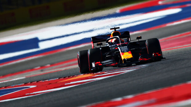 Max Verstappen - Red Bull - Formel 1 - GP USA - Austin - 1. November 2019