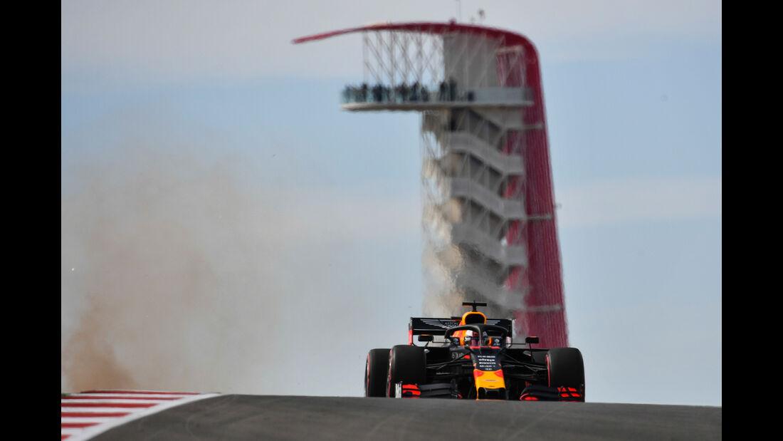 Max Verstappen - Red Bull  - Formel 1 - GP USA - Austin - 2. November 2019