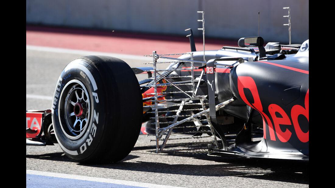 Max Verstappen - Red Bull - Formel 1 - GP USA - Austin - 21. Oktober 2016