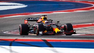 Max Verstappen - Red Bull - Formel 1 - GP USA - Austin - Freitag - 22.10.2021