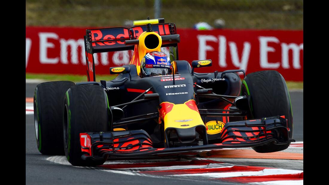 Max Verstappen - Red Bull - Formel 1 - GP Ungarn - 22. Juli 2016