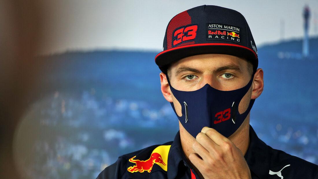 Max Verstappen - Red Bull - Formel 1 - GP Ungarn - Budapest - 16. Juli 2020