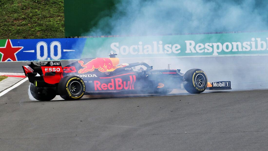 Max Verstappen - Red Bull - Formel 1 - GP Ungarn - Budapest - 18. Juli 2020