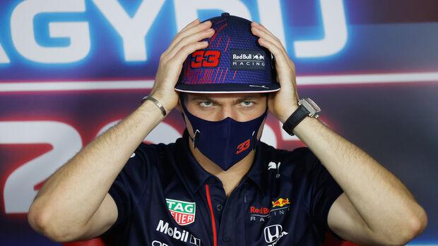 Max Verstappen - Red Bull - Formel 1 - GP Ungarn - Budapest - Donnerstag - 29. Juli 2021