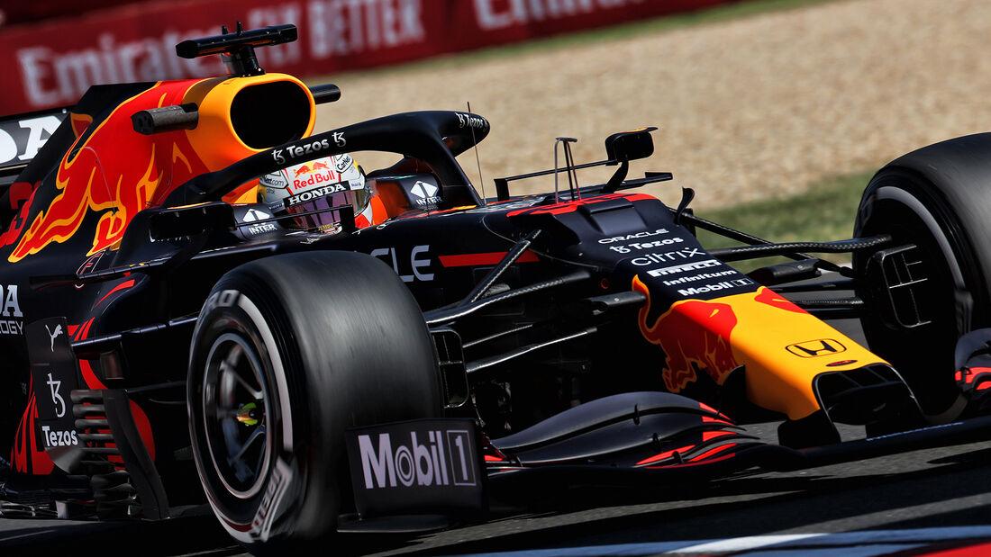 Max Verstappen - Red Bull - Formel 1 - GP Ungarn - Budapest - Freitag - 30. Juli 2021