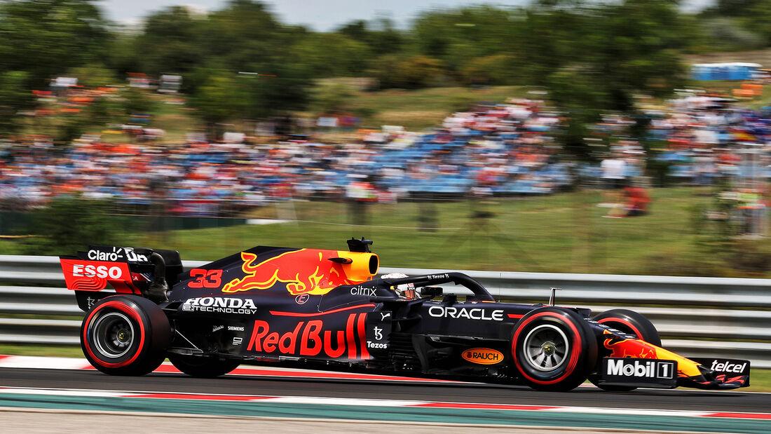 Max Verstappen - Red Bull - Formel 1 - GP Ungarn - Budapest - Samstag - 31. Juli 2021