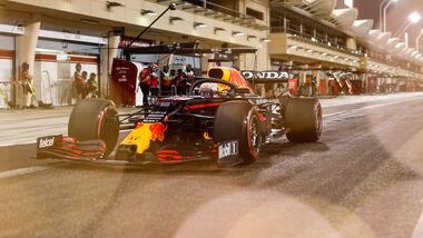Max Verstappen - Red Bull - Formel 1 - Test - Bahrain - 14. März 2021