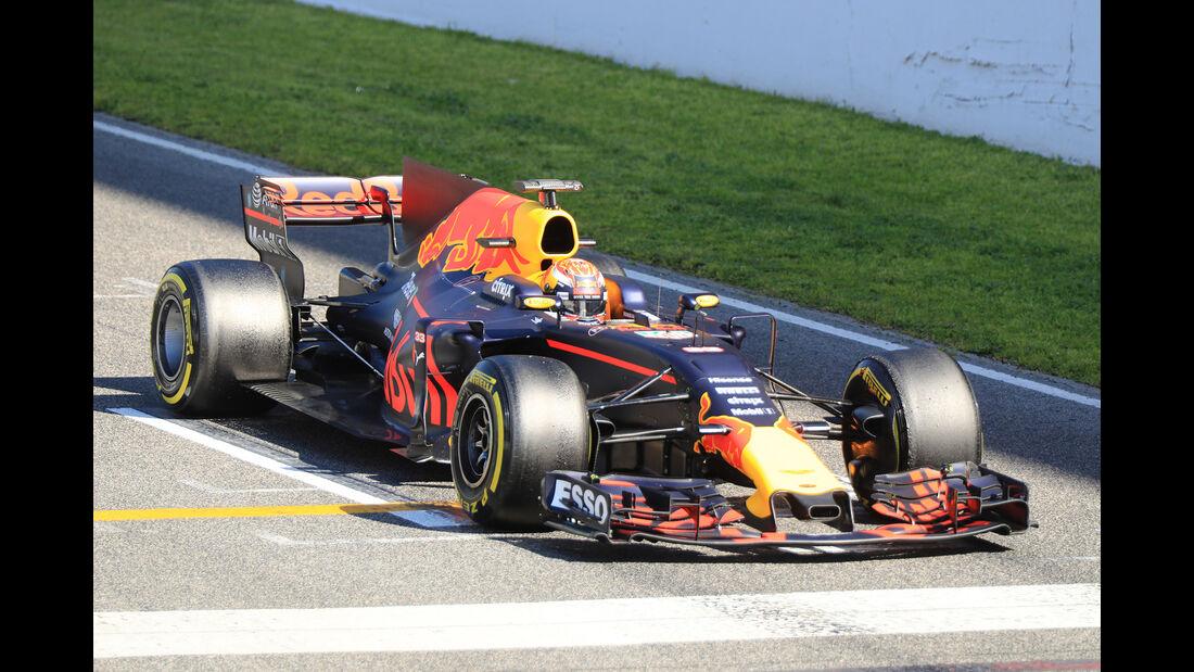 Max Verstappen - Red Bull - Formel 1 - Test - Barcelona - 10. März 2017