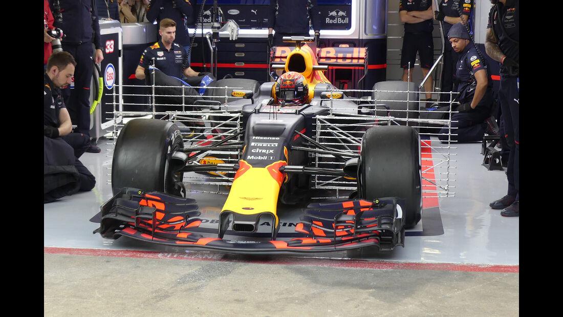 Max Verstappen - Red Bull - Formel 1-Test - Barcelona - 28. Februar 2017