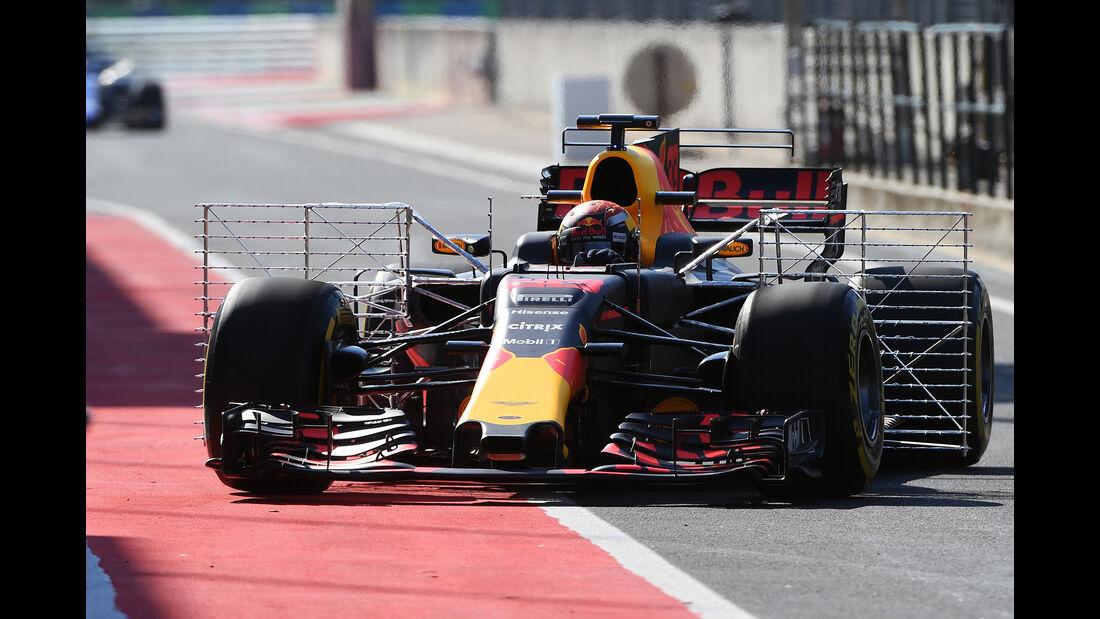 Max Verstappen - Red Bull - Formel 1 - Test - Ungarn - Budapest - 1. August 2017