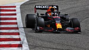 Max Verstappen - Red Bull - Formel 1 - Testfahrten - Bahrain 2021