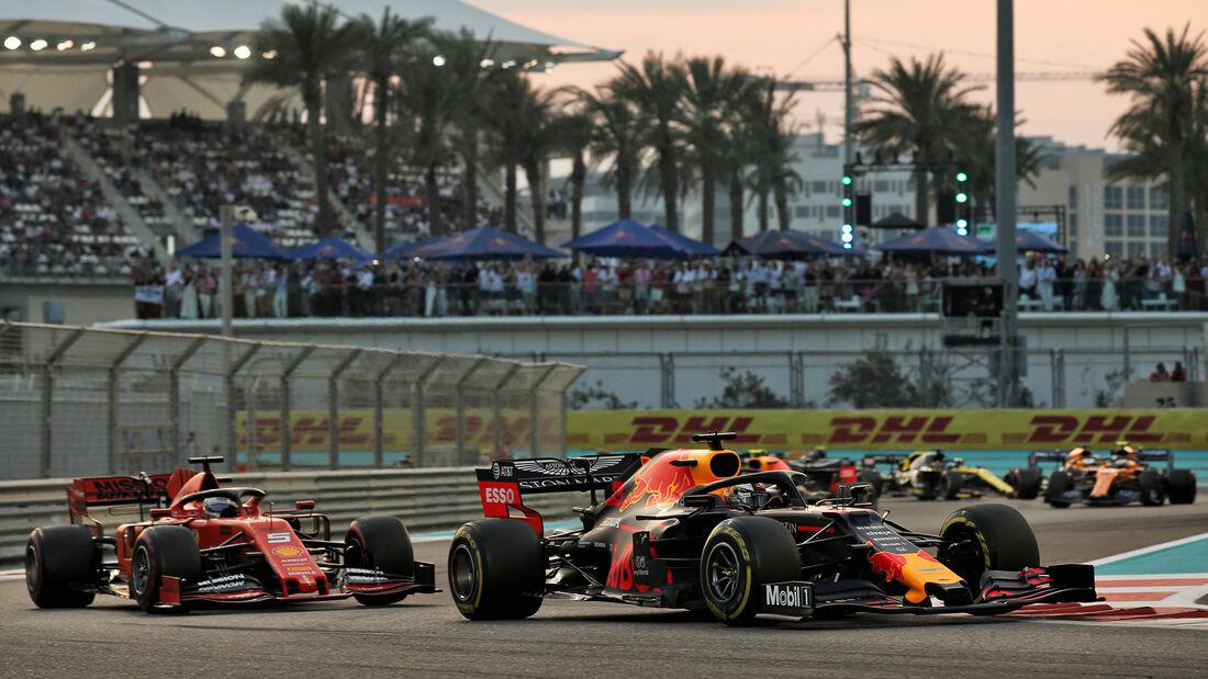 Max Verstappen - Red Bull - GP Abu Dhabi 2019 - Rennen