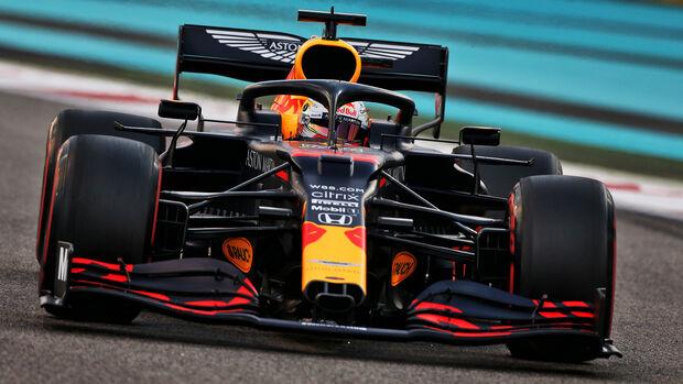 Max Verstappen - Red Bull - GP Abu Dhabi 2020 - Qualifikation