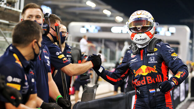 Max Verstappen - Red Bull - GP Abu Dhabi 2020 - Qualifikation