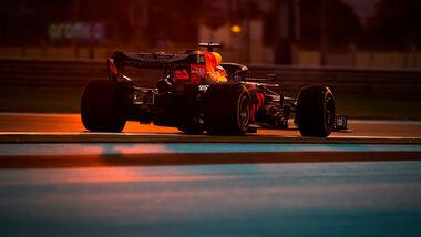Max Verstappen - Red Bull - GP Abu Dhabi 2020 - Rennen