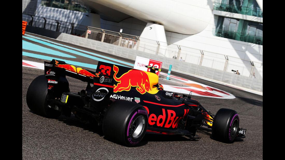 Max Verstappen - Red Bull - GP Abu Dhabi - 25. November 2017