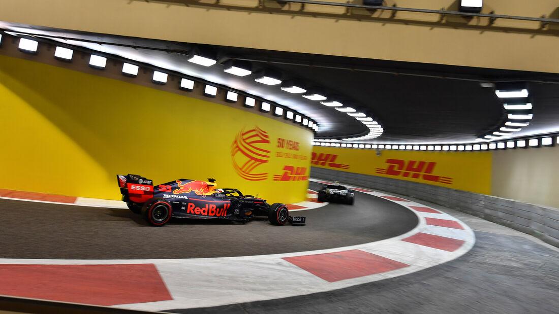 Max Verstappen - Red Bull - GP Abu Dhabi - Formel 1 - Samtag - 30.11.2019