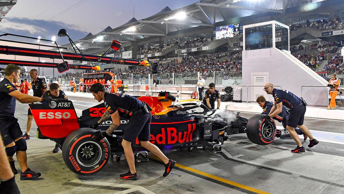 Max Verstappen - Red Bull - GP Abu Dhabi - Formel 2 - Samtag - 30.11.2020