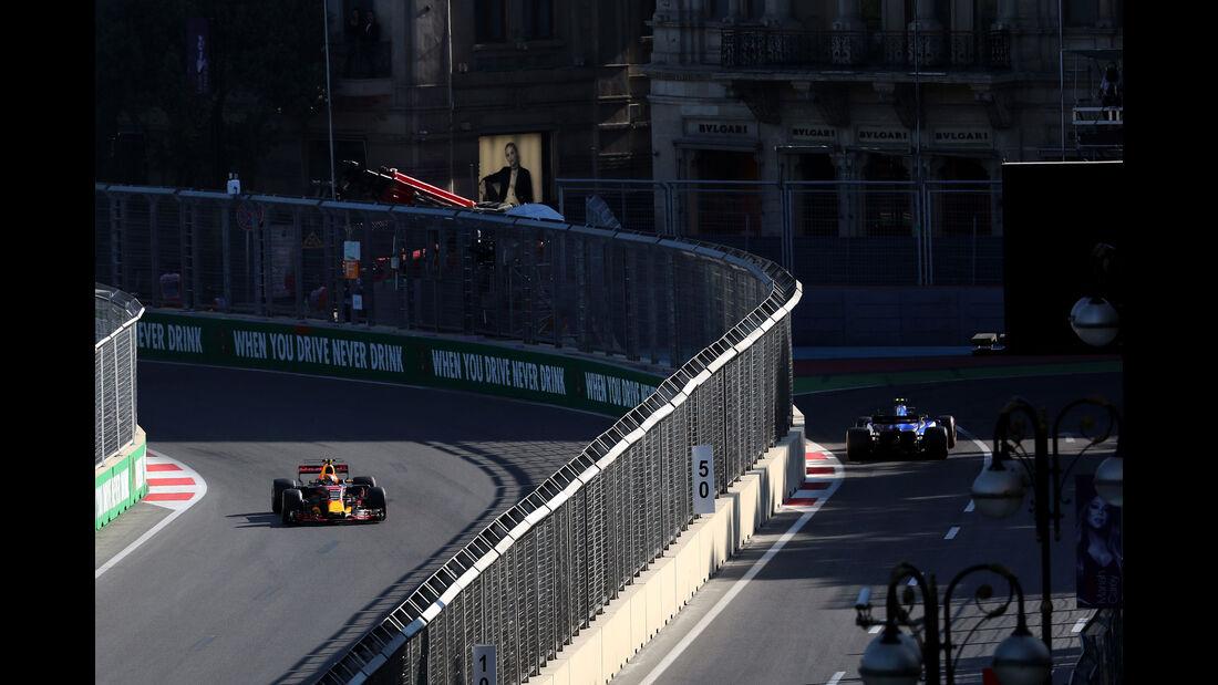 Max Verstappen - Red Bull - GP Aserbaidschan 2017 - Qualifying - Baku - Samstag - 24.6.2017