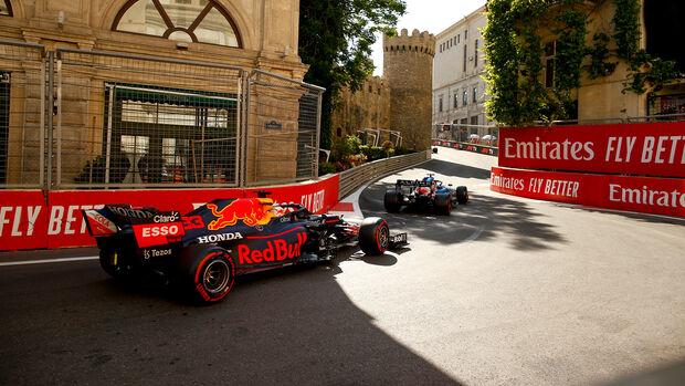 Max Verstappen - Red Bull - GP Aserbaidschan 2021 - Baku - Qualifikation