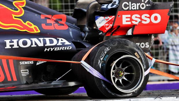Max Verstappen - Red Bull - GP Aserbaidschan 2021 - Baku - Rennen