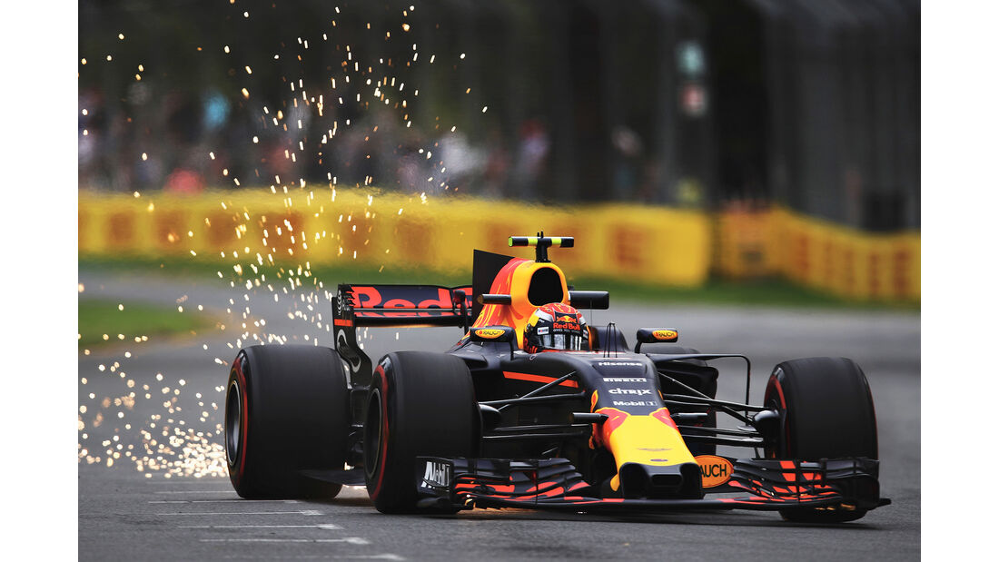 Max Verstappen - Red Bull- GP Australien - Melbourne - 24. März 2017