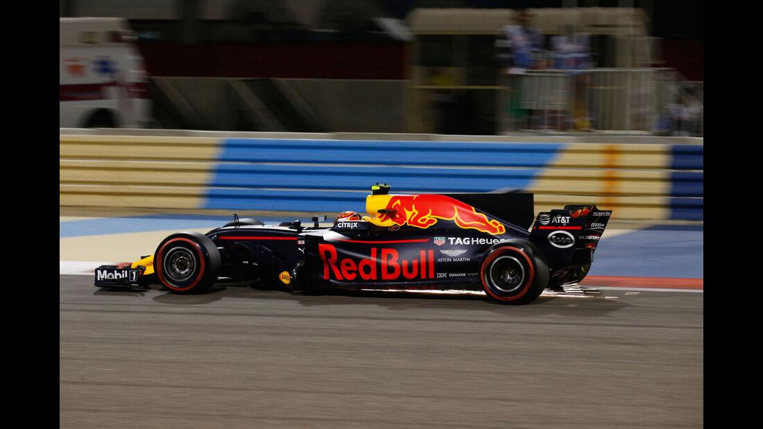 Max Verstappen - Red Bull - GP Bahrain 2017 - Qualifying