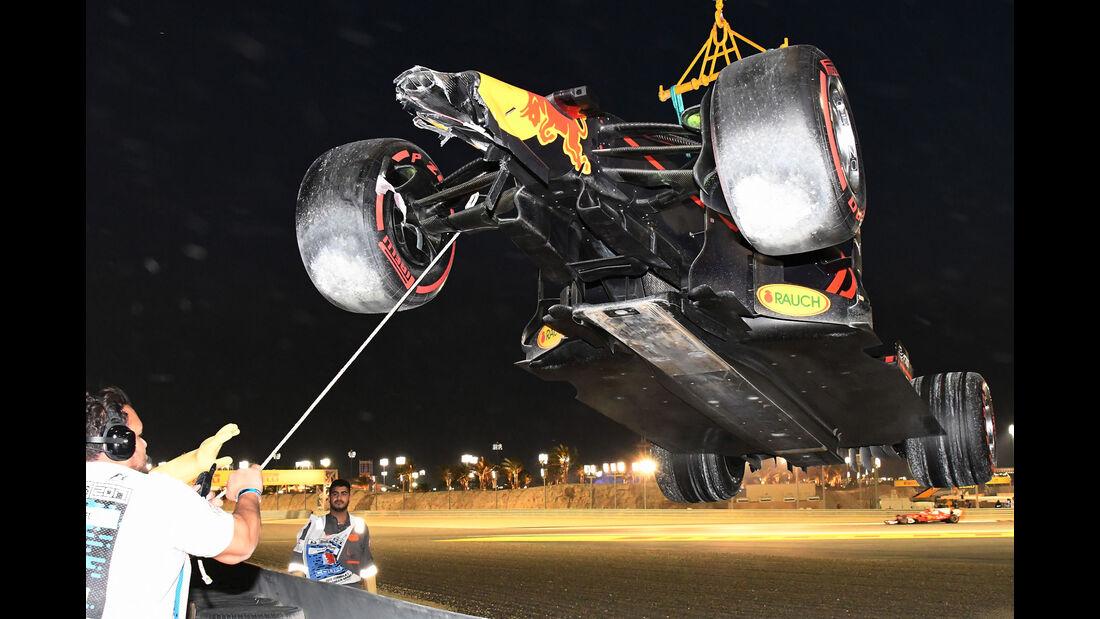 Max Verstappen - Red Bull - GP Bahrain 2017 - Rennen