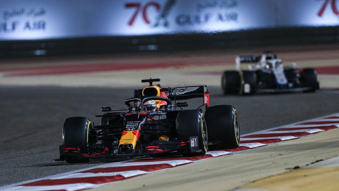 Max Verstappen - Red Bull - GP Bahrain 2020 - Sakhir - Rennen