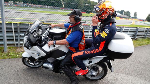 Max Verstappen - Red Bull - GP Belgien 2017 - Rennen