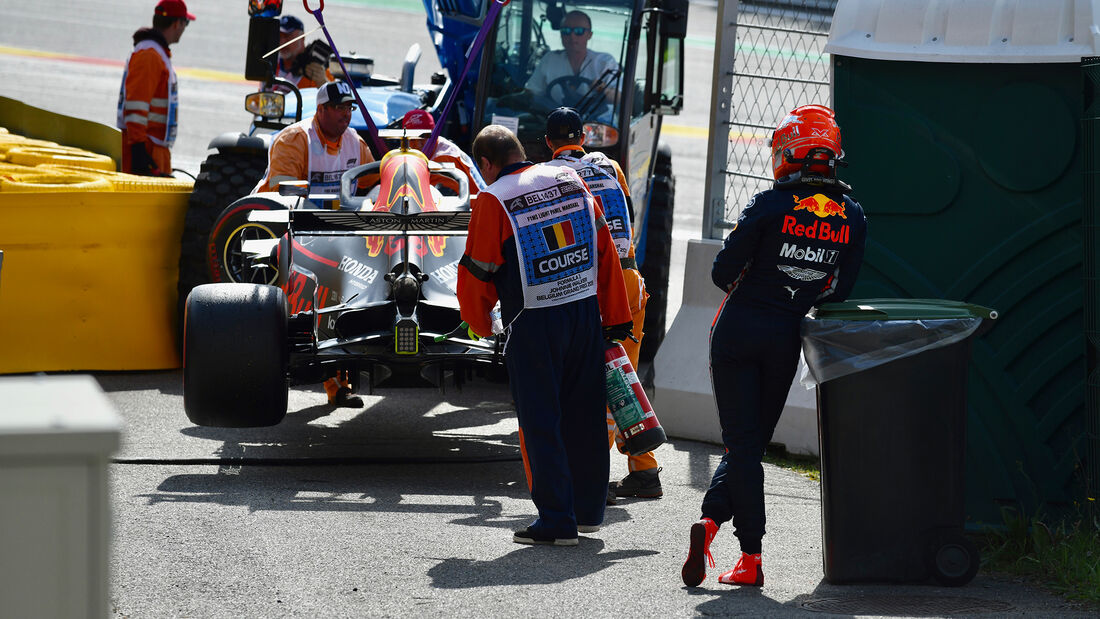 Max Verstappen - Red Bull - GP Belgien 2019 - Spa-Francorchamps
