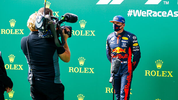 Max Verstappen - Red Bull - GP Belgien - Spa-Francorchamps - 29. August 2020