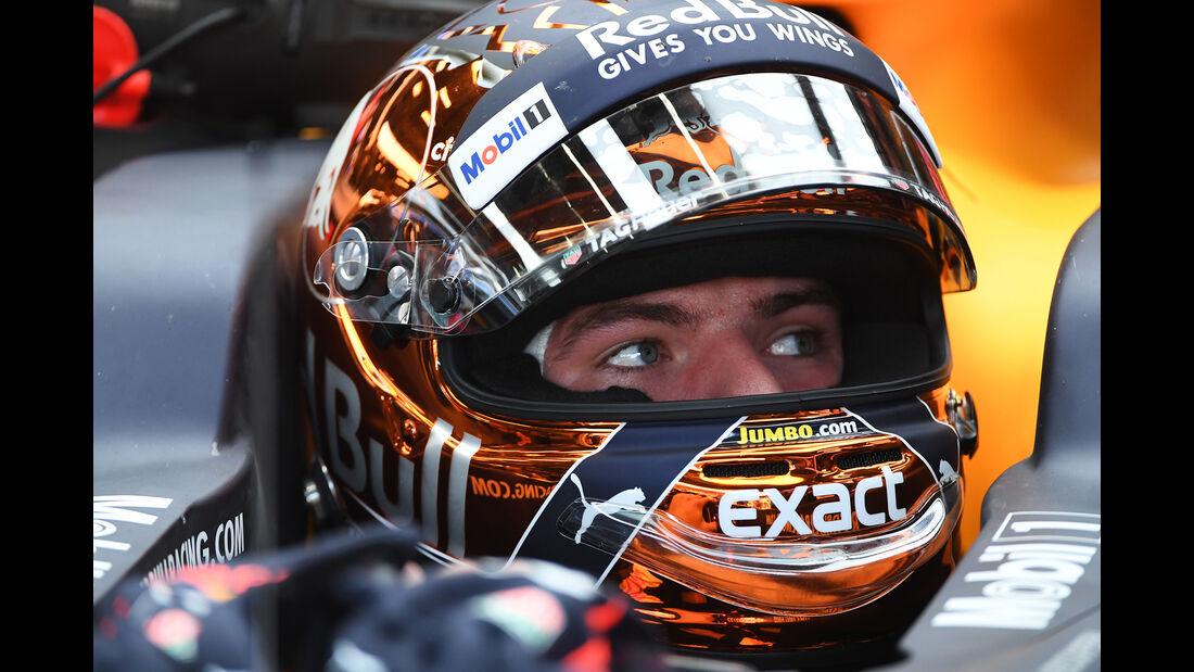 Max Verstappen - Red Bull - GP Belgien - Spa-Francorchamps - Formel 1 - 25. August 2017