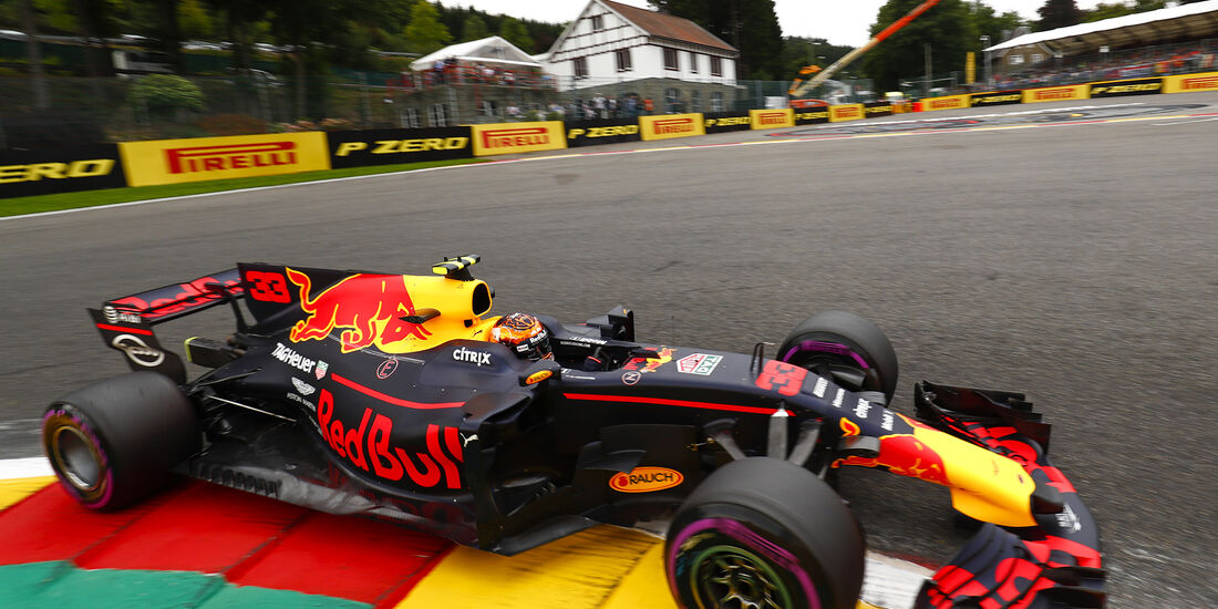 Max Verstappen - Red Bull - GP Belgien - Spa-Francorchamps - Formel 1 - 25. August 2017