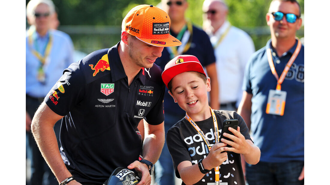 Max Verstappen - Red Bull - GP Belgien - Spa-Francorchamps - Formel 1 - Freitag - 30.08.2019